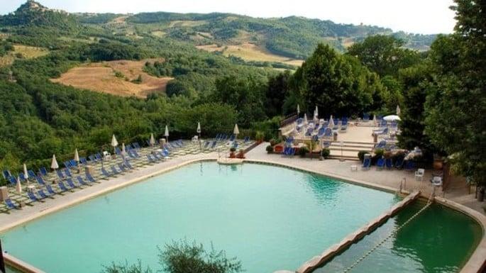 Piscine termali val di sole a bagno vignoni hotel miralaghi