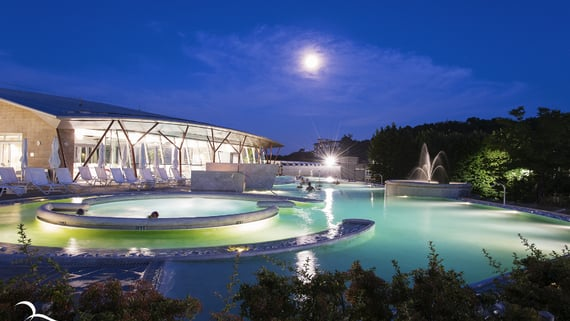 Theia thermal pools